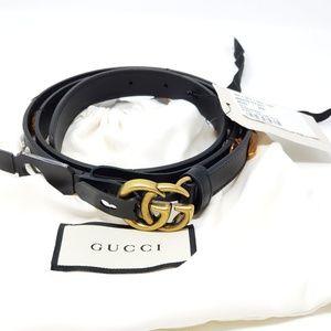 64258e66b GUCCI Women's GG Moon Belt 466479 Size: 95/38 NWT